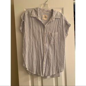 American Eagle Button Down short sleeve shirt
